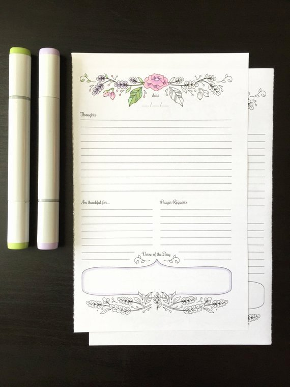 Prayer Journal Template Download Lovely Prayer Journal Printable Daily Devotional Template Bullet
