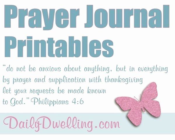 Prayer Journal Template Download Unique Best 25 Prayer Journal Template Ideas On Pinterest