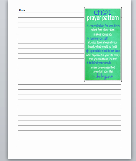 Prayer Journal Template Pdf Awesome Prayer Journal Printables