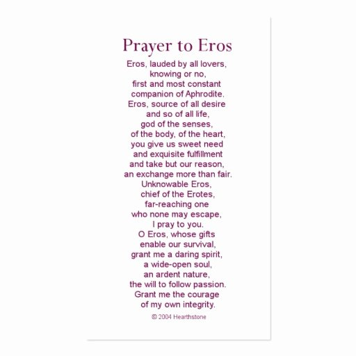 Prayer Request Card Template Awesome Eros Prayer Card Business Card Template