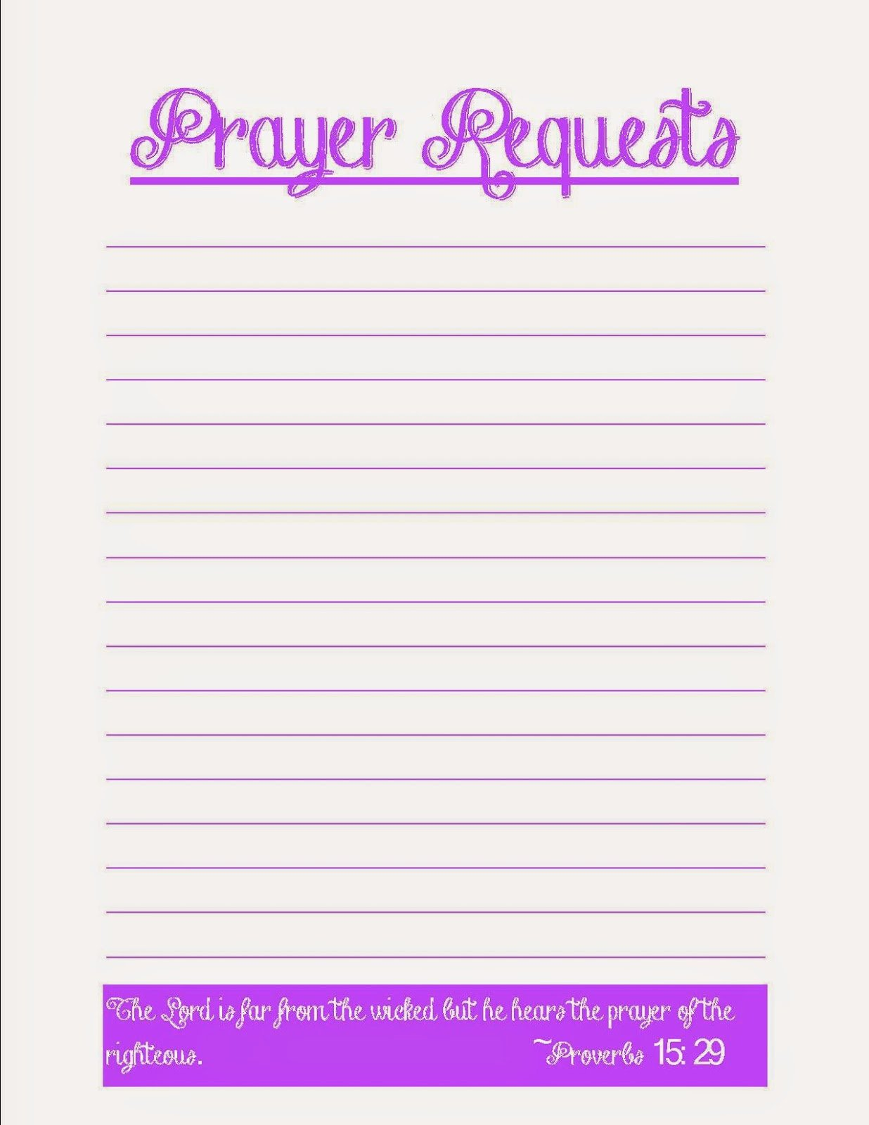 Prayer Request Card Template Beautiful Coffee Crafts & Cornfields Prayer Request Printables