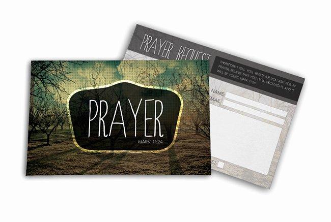 Prayer Request Card Template New Postcard Psd Template Prayer Request Digital316