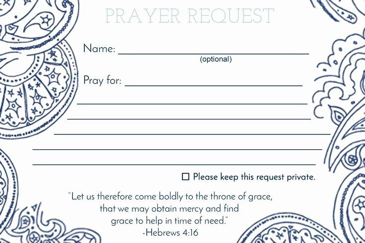 Prayer Request Cards Template Inspirational De 25 Bedste Idéer Inden for Anmodning Bøn På Pinterest
