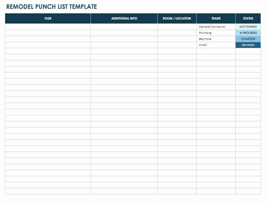 Pre Construction Checklist Template Beautiful Checklist Template Report Pre Construction form Print