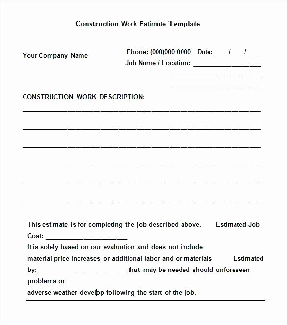 Pre Construction Checklist Template Inspirational Construction Checklist Template Pre form