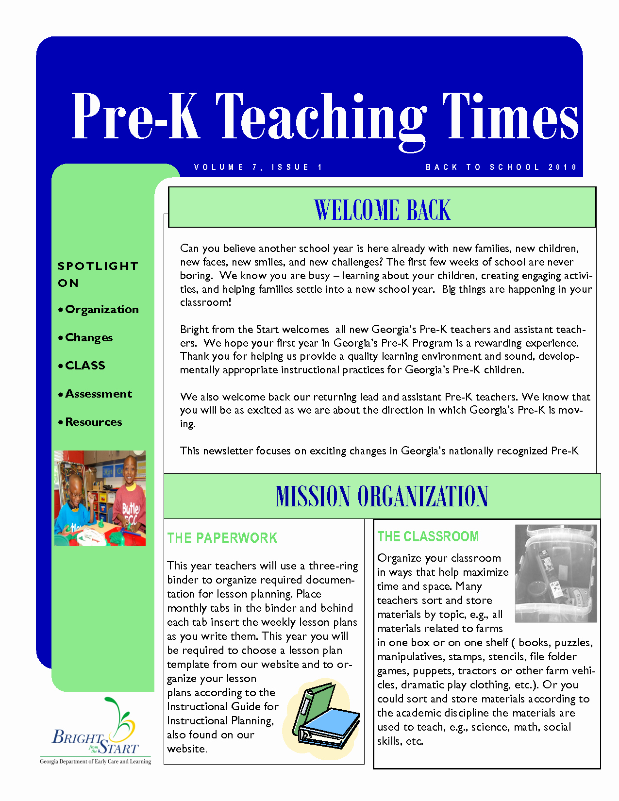 Pre K Newsletter Template New Best S Of Pre K Newsletter Samples Pre K Newsletter