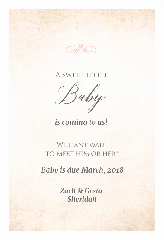 Pregnancy Announcement Template Free Fresh Sweet Secret Free Printable Pregnancy Announcement