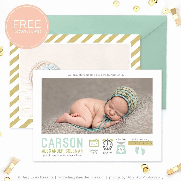 Pregnancy Announcement Template Free Unique 1000 Ideas About Birth Announcement On Pinterest