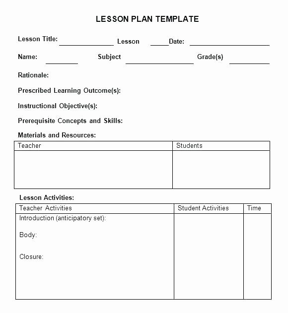 Prek Lesson Plan Template Fresh Emergent Curriculum Preschool Lesson Plan Template