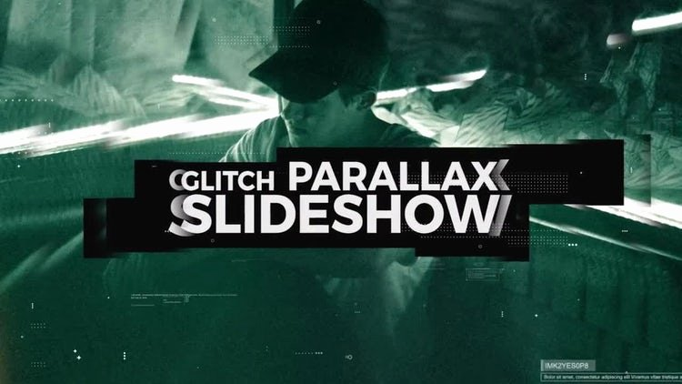 Premiere Pro Slideshow Template Beautiful Glitch Parallax Slideshow Premiere Pro Templates
