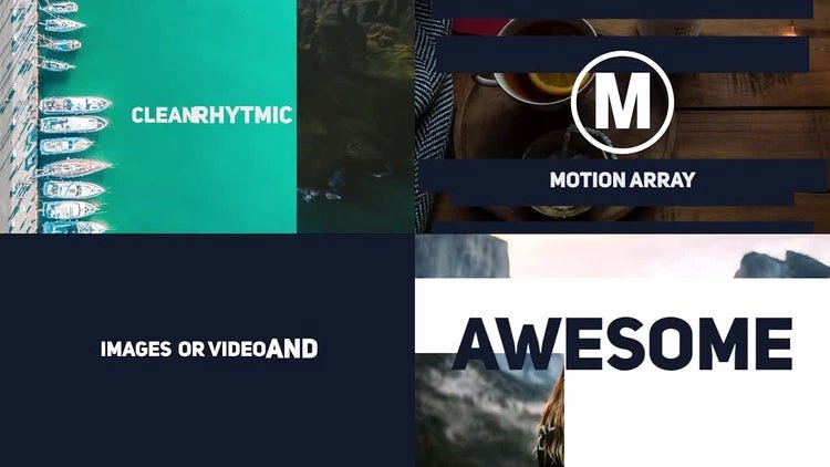 Premiere Pro Slideshow Template Best Of Dynamic Stomp Typography Slideshow Premiere Pro