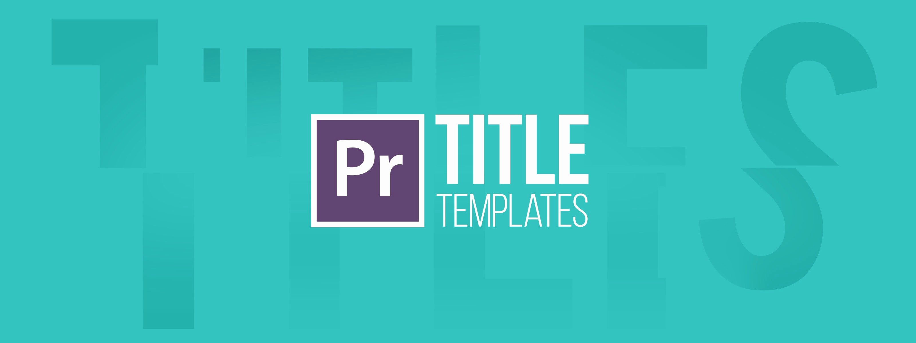 Premiere Pro Slideshow Template Luxury Learn How to Use Our Premiere Pro Title Templates