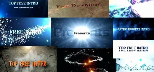 Premiere Pro Slideshow Template Unique Free Adobe after Effects Templates Starter Logo Reveal