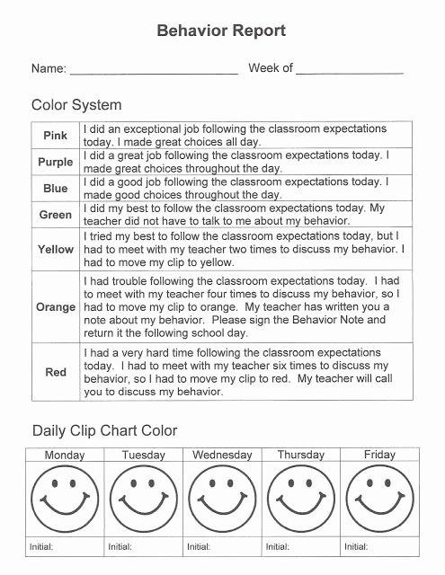 Preschool Behavior Plan Template Awesome Best 25 Preschool Daily Report Ideas On Pinterest