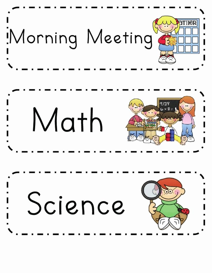 Preschool Daily Schedule Template Awesome Best 25 Daily Schedule Cards Ideas On Pinterest