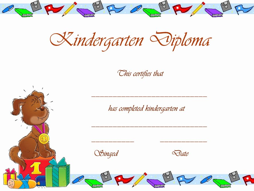 Preschool Graduation Certificate Template Inspirational 8 Best Of Free Printable Graduation Certificates