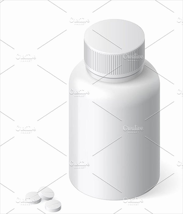 Prescription Bottle Label Template Luxury 9 Pill Bottle Label Templates Design Templates