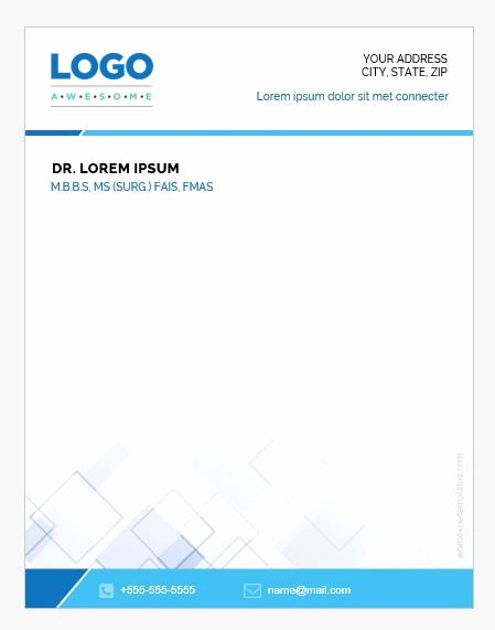 Prescription Pad Template Free Awesome 5 Doctor Prescription Pad Templates for Ms Word