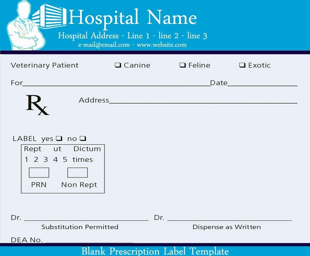 Prescription Pad Template Free Awesome Blank Prescription Pad Image Sample