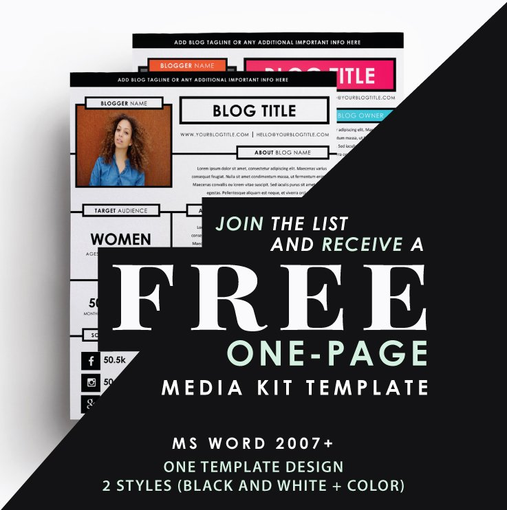 Press Kit Template Word Best Of Anatomy Of A Media Kit What to Include