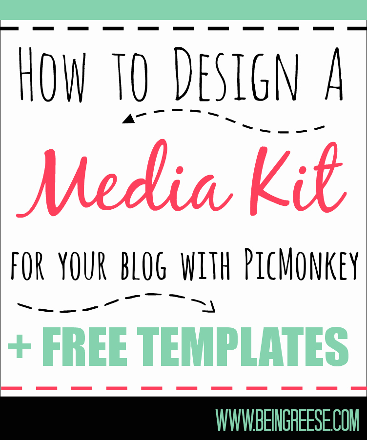 Press Kit Template Word New Media Kit Template