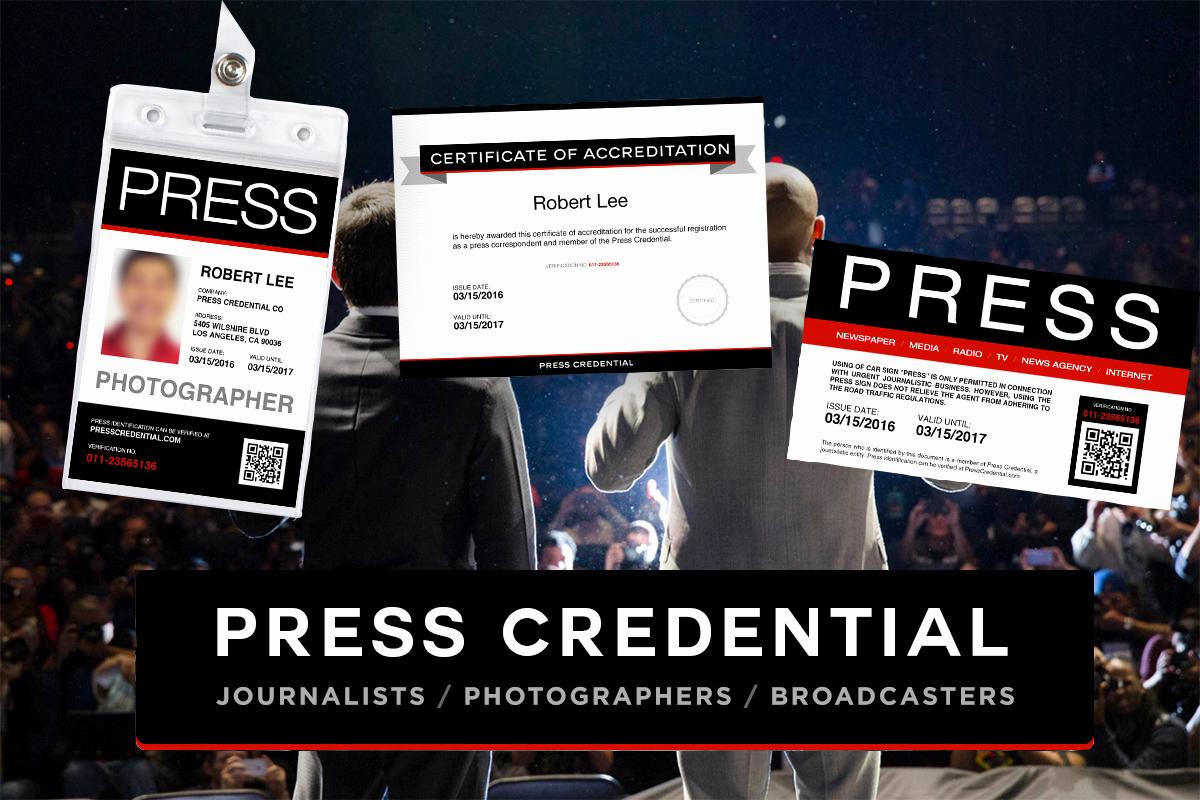Press Pass Template Free Luxury Presscredential Free Press Pass Template Fers Variety