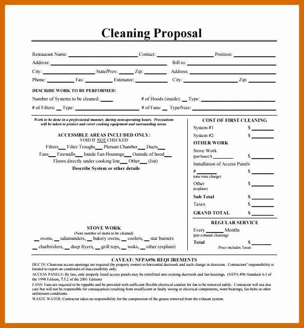 Pressure Washing Proposal Template Fresh 6 7 Cleaning Proposal Template