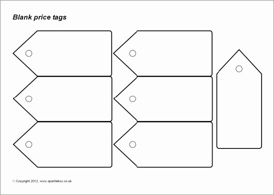 Price Tag Template Printable Elegant 8 Best Of Price Tags Printable Coloring Pages