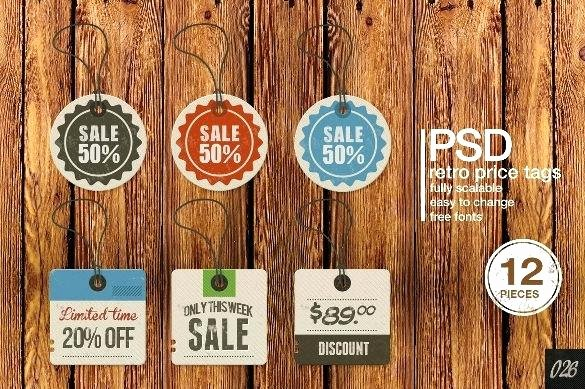 Price Tag Template Printable Lovely Price Tags Free Tag Template Download Templates Retail for