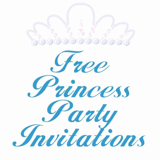 Princess Party Invitation Template Beautiful Free Princess Birthday Party Invitation Templates