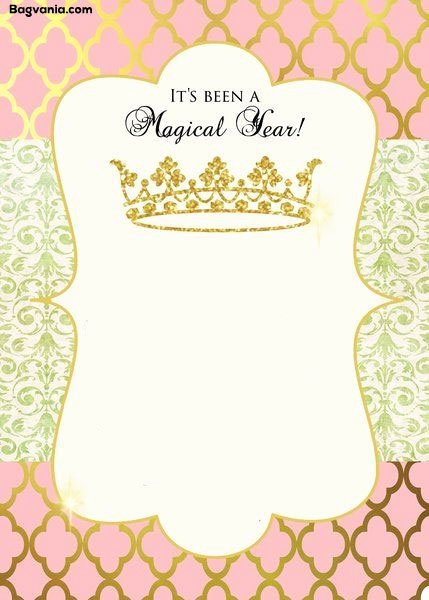 Princess Party Invitation Template Inspirational Free Princess Birthday Invitations – Free Printable
