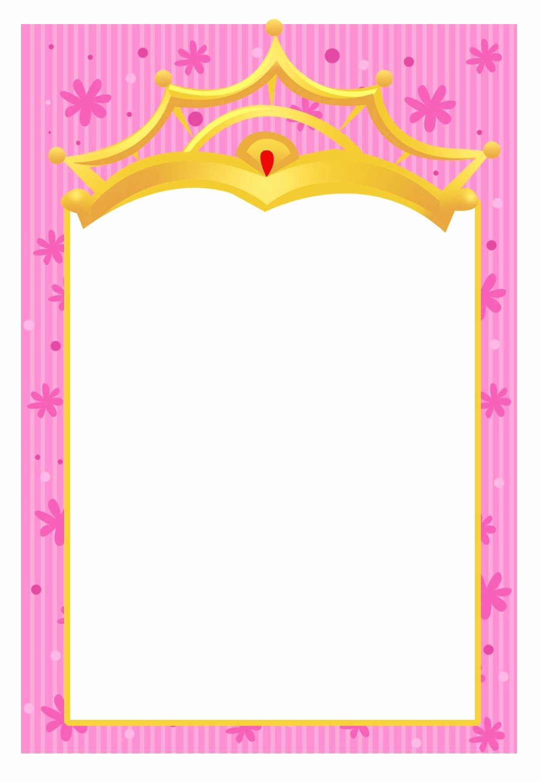 Princess Party Invitation Template Lovely Free Printable A Little Princess Invitation Another Free