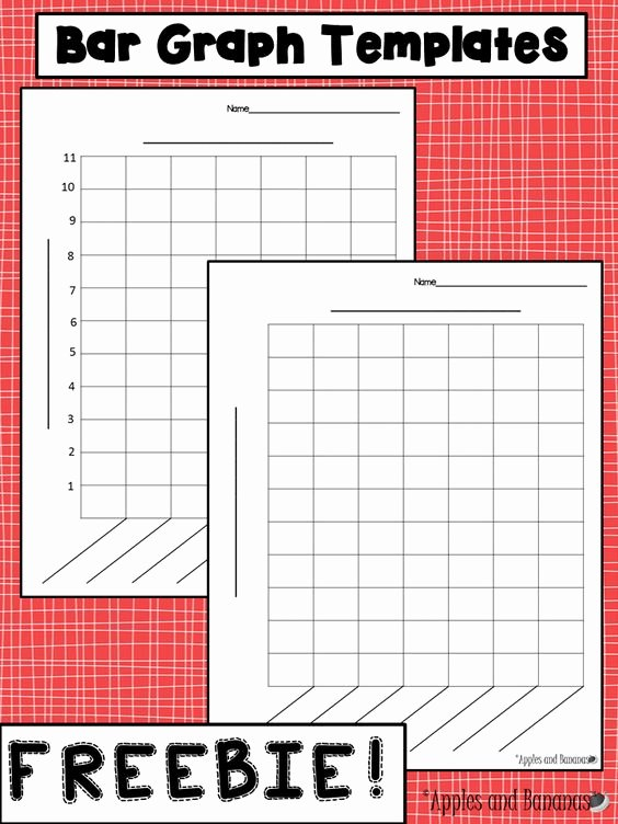 Printable Bar Graph Template Elegant Free Bar Graph Templates with and without A Scale for A