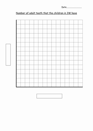 Printable Bar Graph Template Inspirational Blank Bar Graph Template Adult Teeth by Hannahw2