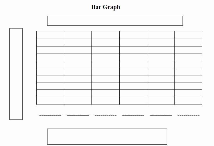 Printable Bar Graph Template Inspirational Free Printable Blank Charts