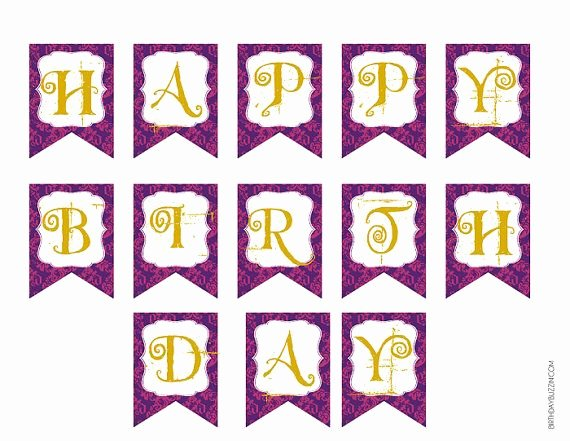 Printable Birthday Banner Template Best Of 301 Moved Permanently