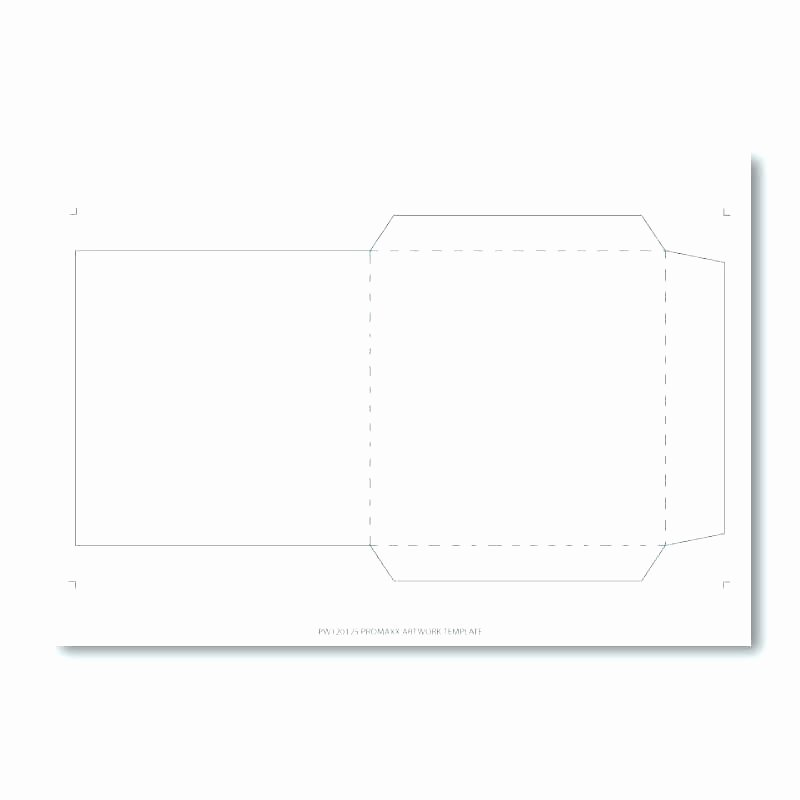Printable Cd Sleeve Template Lovely Reinforced Flap Single Mailer Envelope Printable