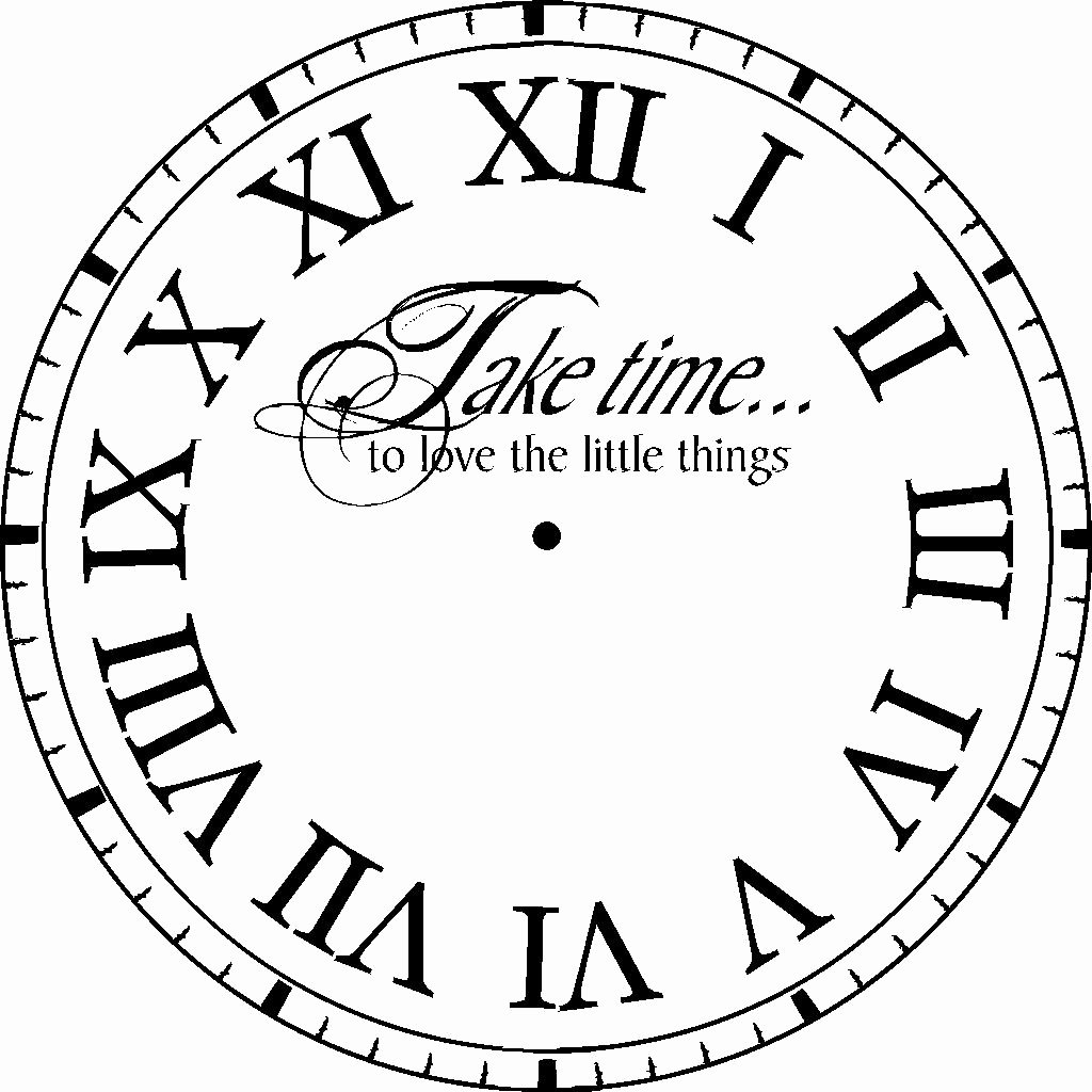 Printable Clock Face Template Awesome Clock Face Template
