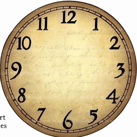 Printable Clock Face Template Unique 1000 Images About Clocks On Pinterest