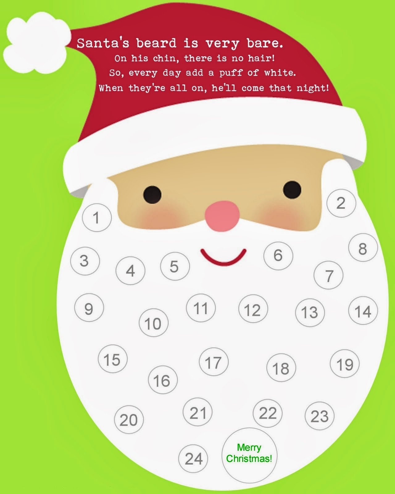 Printable Countdown Calendar Template Awesome Didi Relief society It is All About Christmas