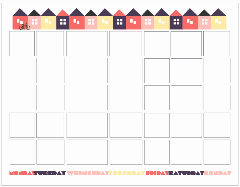 Printable Countdown Calendar Template Awesome Fit 3 Ways