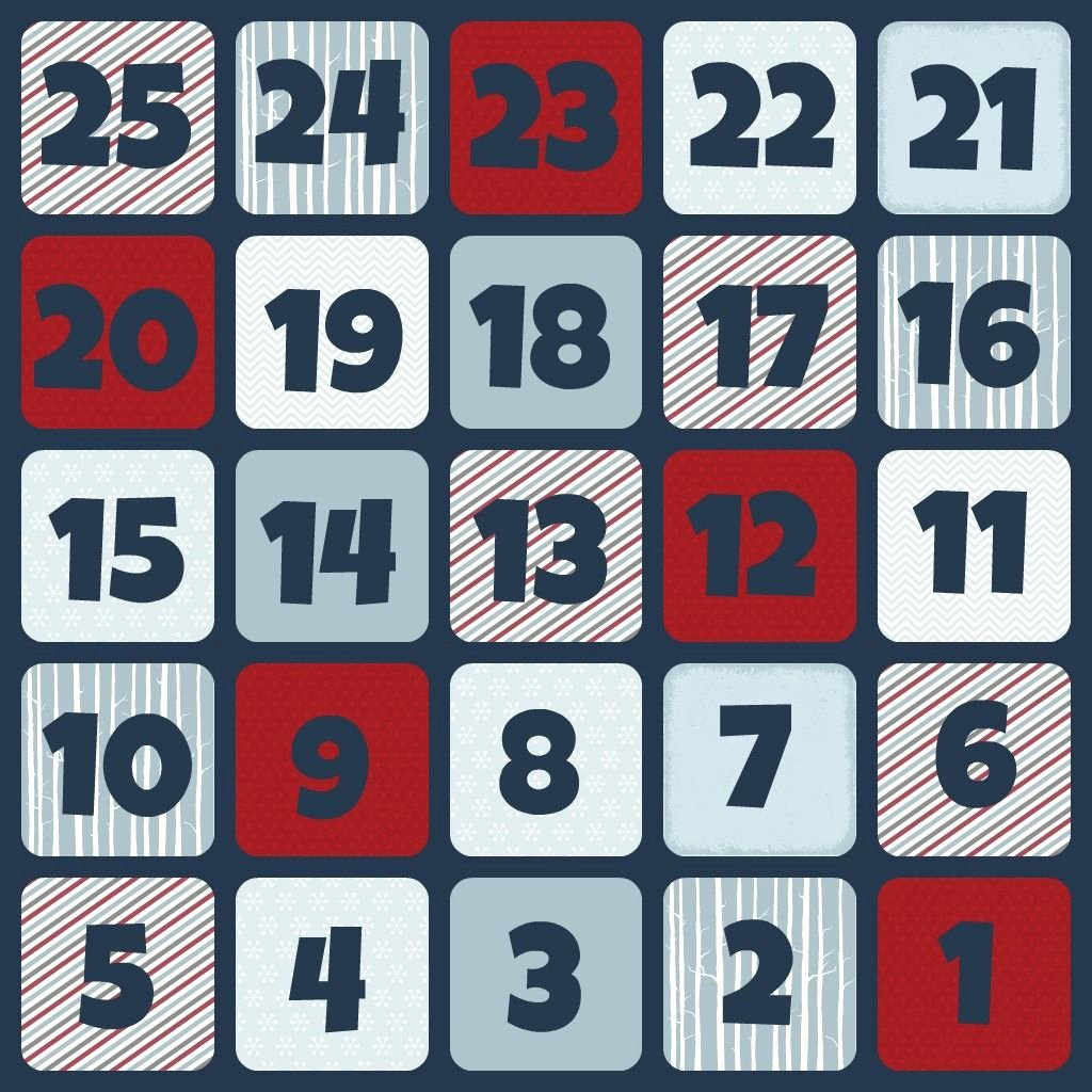 Printable Countdown Calendar Template Luxury Winter Subway Art and Christmas Countdown Calendar