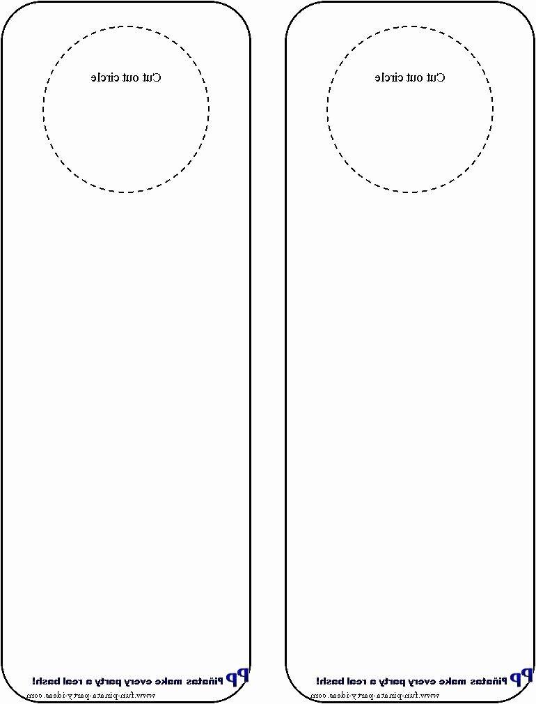 Printable Door Hanger Template Unique Door Hangers Photo