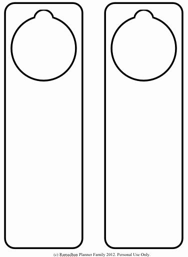 Printable Door Hanger Template Unique Door Sign Template & Blank Glass Name Plate Design Mockup