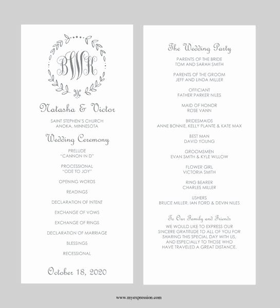 Printable event Program Template Best Of Best 25 Wedding Program Template Word Ideas On Pinterest