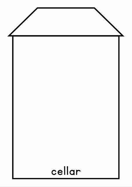 my house flip book template year 2 unit