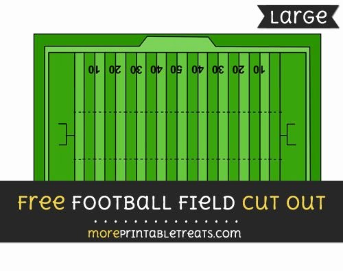 Printable Football Field Template Awesome Printable Football Field