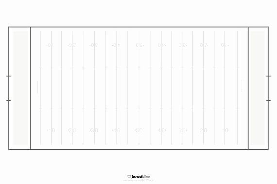 Printable Football Field Template Beautiful Best S Of Football Field Diagram Template Blank