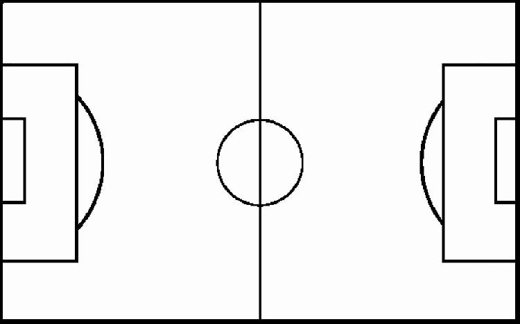 Printable Football Field Template Best Of Blank Football Field Diagram 7 Best Free