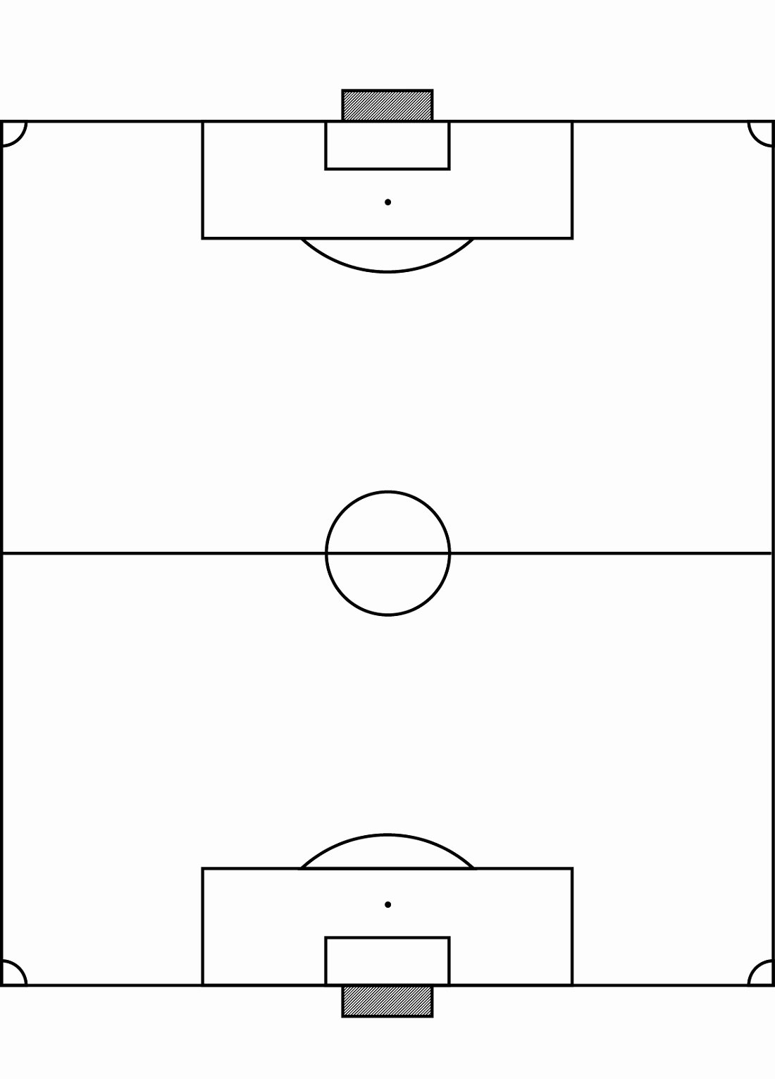 football field diagrams to print